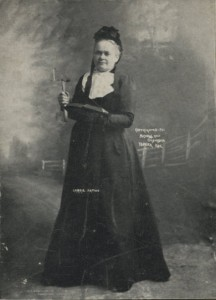 Photograph of Carrie Nation at Sherburne Fair