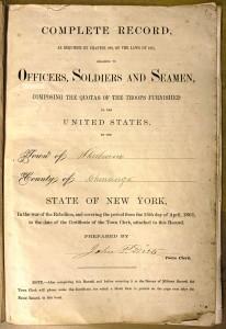 Civil War Record, 1865