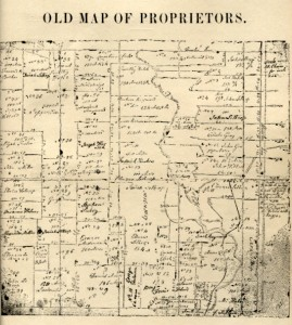 Early land-owner's map