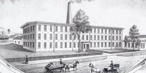 Photo of the Ross Cotton Mill