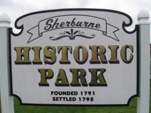 historic park sign