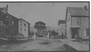 The Chenango Canal and Stone Houses in Old Days