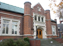 Front View of Town Of Sherburne's library