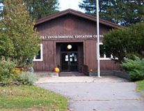 Front View of rogers environmental center